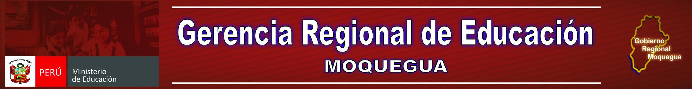 Gerencia Regional de Educación Moquegua